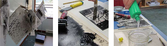 The printmaking process